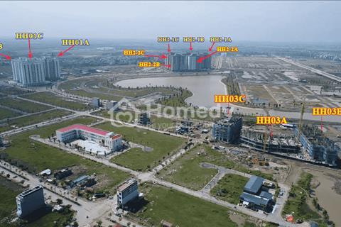 Bán căn hộ chung cư ba tòa HH03a, HH03b, HH03c - Thanh Hà Cienco 5 giá 12 triệu/m2.