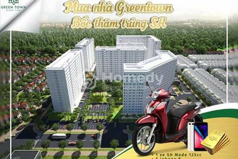 Chỉ còn cơ hội duy nhất sở hữu căn hộ thương mại Green Town b1 350 triệu chiết khấu 6%