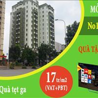 Trao quà ,nhận nhà ở ngay chung cư No17 - 3 Sài Đồng giá chỉ có 17 triệu/m2