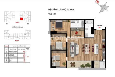 Cần tiền bán gấp căn hộ A1808 Imperia Garden - 122 m2, 4 phòng ngủ - cắt lỗ 300 triệu