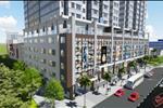 Chung cư FHome với kết cấu 26 tầng, 1 tầng hầm để xe, 5 tầng thương mại mang đến một không gian sống đa năng với nhiều tiện ích nội khu cao cấp, phục vụ tối đa lợi ích của cư dân sinh sống tại Fhome