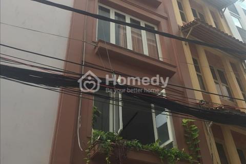 Bán nhà hẻm xe hơi Nguyễn Trãi, Quận 1, 2 mặt tiền, 1 trệt 4 lầu, nhà mới đẹp