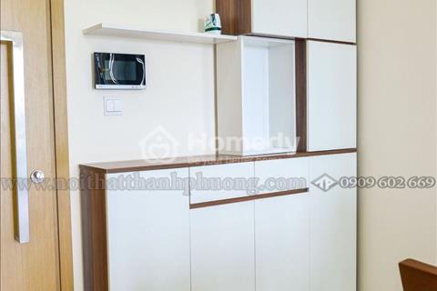 Cần cho thuê căn Vista Verde Quận 2, tầng 2, 75m2, full nội thất, 2 phòng ngủ, Giá: 15 triệu/tháng