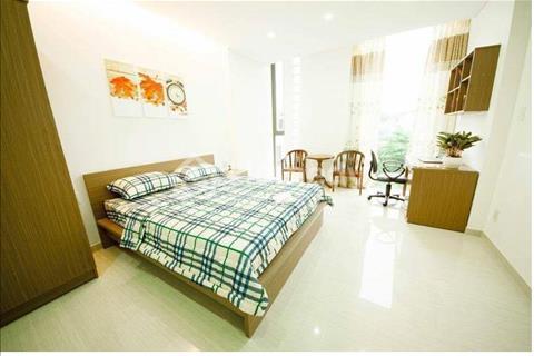 Căn hộ full nội thất 1 phòng ngủ, cạnh vòngxoay dân chủ Cách mạng tháng 8 Quận 10