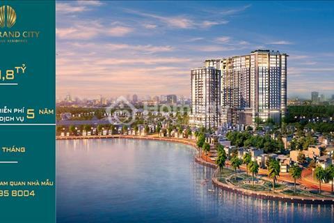 Sun Grand City ven hồ, view hồ Tây - chiết khấu 1,7 tỷ - miễn phí dịch vụ 5 năm - vay 0% 12 tháng
