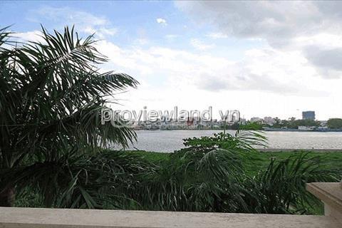 Bán biệt thự bờ sông Thảo Điền 550m2 4 phòng ngủ sân vườn hồ bơi sổ hồng