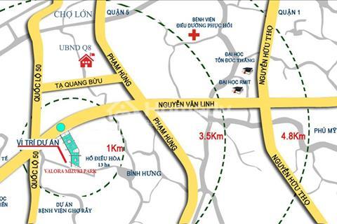 Giá bất ngờ với căn hộ - biệt thự ven sông Mizuky Park (Bình Chánh - quận 7)