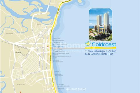 Đầu tư căn hộ nghỉ dưỡng Gold Coast Nha Trang, 100% view biển, chiết khấu trực tiếp 24%,