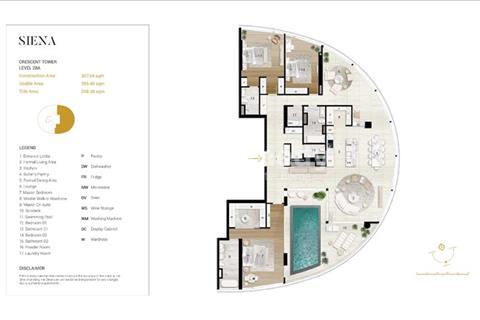 Bán căn hộ Penthouse quận Bình Thạnh tại City Garden giai đoạn 2 diện tích 320 - 340m2