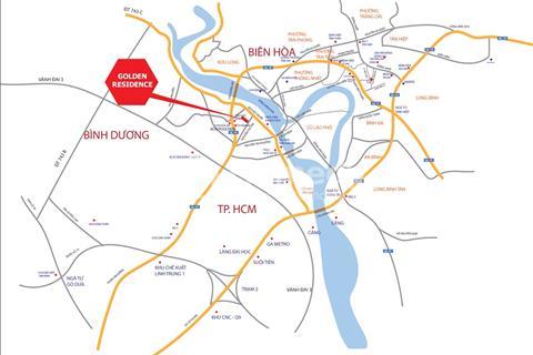 Dự án đất nền Golden Residence ngay Thành phố Biên Hòa vị trí đẹp nhanh tay lên