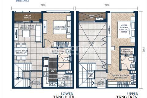 Bán lỗ gấp Duplex 2 phòng ngủ Feliz En Vista view mặt tiền