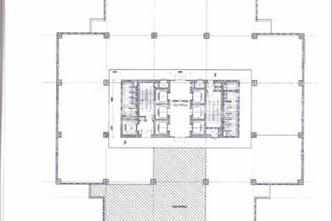 Bán 205m2 sàn thương mại tòa nhà văn phòng ICON 4 đường Cầu Giấy