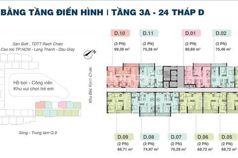 Bán căn hộ Jamila Khang Điền Quận 9 giá tốt nhất thị trường, block A, B, D.