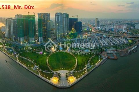 Cần tiền bán lỗ căn hộ Vinhomes Tân Cảng 4 ngủ, 155m2, view công viên và sông Sài Gòn, giá 8.75 tỷ