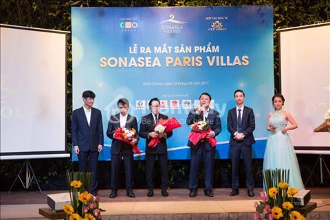C.E.O group - dự án Sonasea Paris Villa phong cách Pháp giữa lòng Phú Quốc