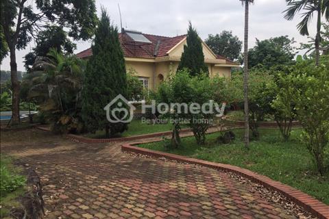 Do không có nhu cầu ở nữa, tôi muốn bán lô biệt thự 2.800m2 tại Yên Bài, nhà vườn sẵn giá rẻ nhất