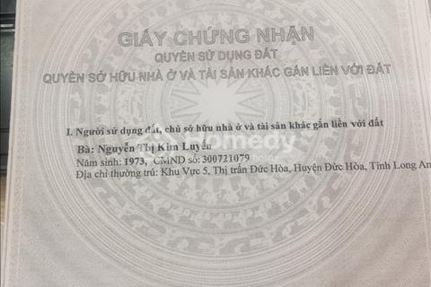 Đất cần bán chỉ 224tr/112m2 sổ hồng riêng mặt tiền Bùi Văn Ngọ.