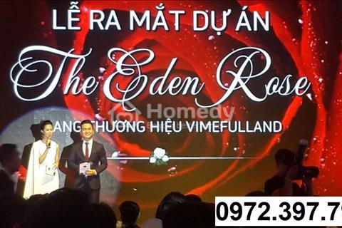 CĐT bán 10 suất ngoại giao Eden Rose chỉ 5,3 tỷ/lô, tặng 10 bông hồng vàng 60 triệu lì xì ngay 10tr