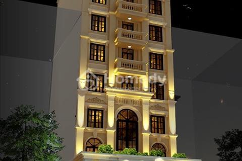 Bán gấp tòa nhà văn phòng 8 tầng mặt phố Nguyễn Khang. Diện tích 110m2, giá 38,5 tỷ