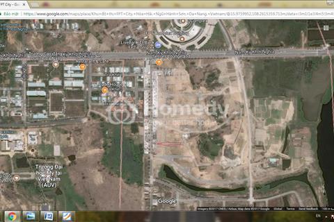 Bán nhà phố khu V5.B15.27, Dự án FPT City Đà Nẵng; đã hoàn thiện bên ngoài. Mua để đón APEC
