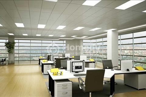 Cho thuê tòa nhà văn phòng quận 7 diện tích 1106m2 gồm 1 và 4 lầu thang máy
