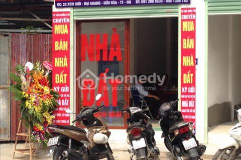 Văn phòng thông tin nhà đất tại Tả Thanh Oai, Hữu Hòa, Kim Giang