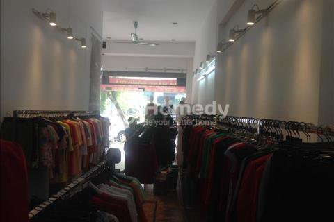 Cho thuê cửa hàng phố Bà Triệu - Hoàn Kiếm, dãy chẵn, 50m2, mặt tiền 4m, giá thuê 50 triệu/tháng