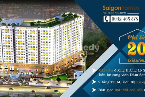 Căn hộ nội thất cao cấp tại Quận Bình Tân giá chỉ từ 900 triệu ?