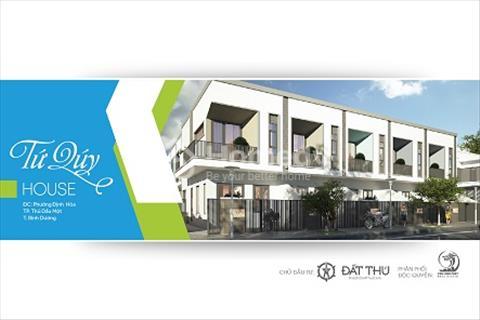 Nhà 1 trệt 1 lầu - Trung tâm thành phố mới - Bình Dương
