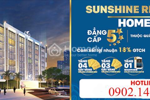 CĐT Sunshine Group mở bán dự án Hometel Sunshine Riverside Tây Hồ giá tốt nhất mọi thời điểm.