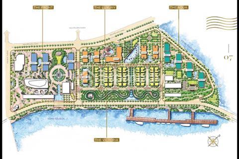 Bán lỗ 200 triệu căn hộ Vinhomes Ba Son 2 ngủ, 71,9m2 view Thị Nghè giá 5,775 tỷ