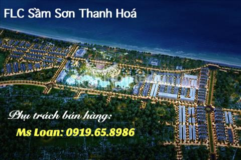Bán LK9 dự án FLC Lux City Sầm Sơn, Thanh Hóa, thuộc khu phố nướng giáp vạn chài resort