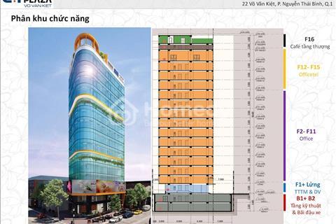 Căn hộ Officetel CT Plaza phố Wall ngay mặt tiền Võ Văn Kiệt giá tốt