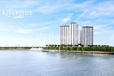 Thanh toán trước 238 triệu sở căn hộ mặt tiền Quốc Lộ 13 Saigon Riverside City, sổ hồng vĩnh viễn.
