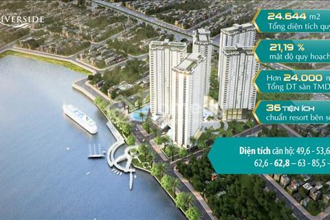 Khu Đô Thị Sinh Thái ven sông Quận Thủ Đức Saigon Riverside City trong lòng thành phố. 1,28 tỷ/căn