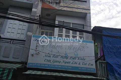 Cho thuê nhà nguyên căn Tân Sơn Nhì quận Tân Phú
