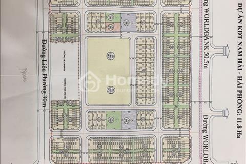 Bán nhà liền kề, biệt thự KĐT Nam Hải (Phúc Lộc), Hải An, Hải Phòng
