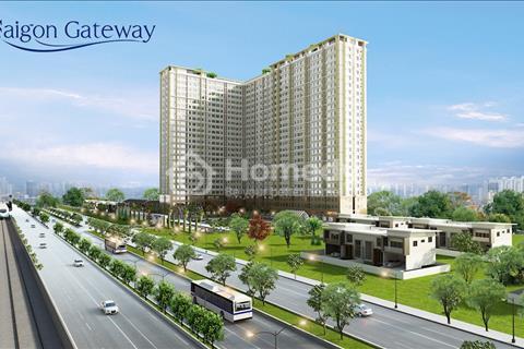 Saigon Gateway quận 9 suất nội bộ giá tốt nhất. 53 - 55m2: 1,46 tỷ (VAT) - 65m2 giá 1,8 tỷ (VAT)