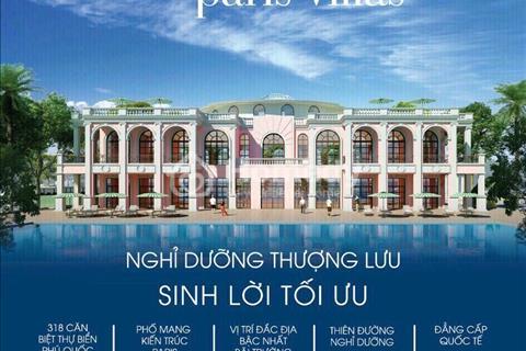 Đầu tư tại Sonasea Paris Villas lợi nhuận siêu khủng 16%/năm nhanh tay để được vị trí đẹp nhất