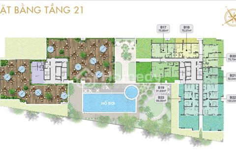 Chính chủ bán lại căn hộ sân vườn Moonlight Residence, (tổng diện tích 166m2) - 3,050 tỉ (Có VAT)