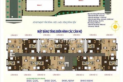 Căn hộ ở liền Q.Tân Bình, gần sân bay TSN, giá 1,2 tỷ/căn 2pn 2wc (đã VAT) mua trực tiếp chủ đầu tư
