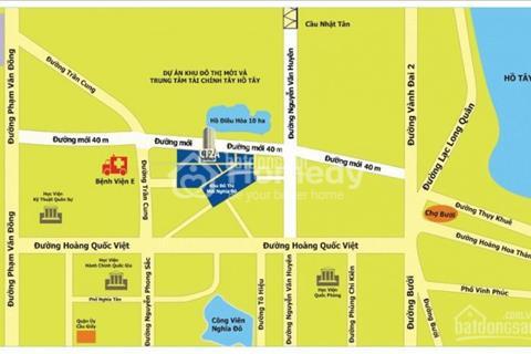 Bán căn hộ khu đô thị Nghĩa Đô, 41m2,chỉ 1,3 tỷ, thô nguyên bản, ban công Nam