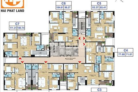 Chỉ 22tr/m2 : Bán gấp CH03 113m2 tại dự án Dream Center Home - 282 Nguyễn Huy Tưởng.