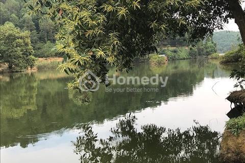 Bán lô đất làm biệt thự nghỉ dưỡng, view hồ đẹp vô cùng, cách Đại Lộ Thăng Long chỉ 1km