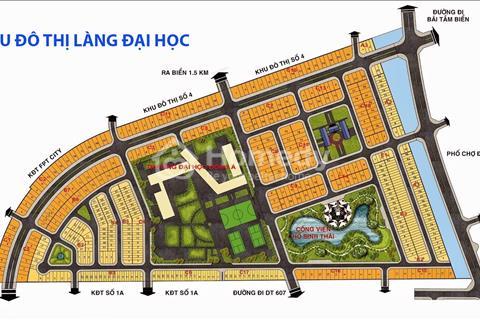 Đất Làng Đại học Đà Nẵng. Liền kề khu FPT. Giáp trục đường Trần Đại Nghĩa. Giá 5 triệu/m2