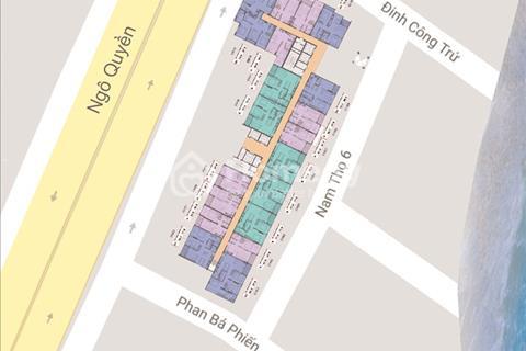 Bán căn hộ trung tâm Đà Nẵng, 4 view – 4 mặt tiền chỉ từ 1,3 tỷ/căn