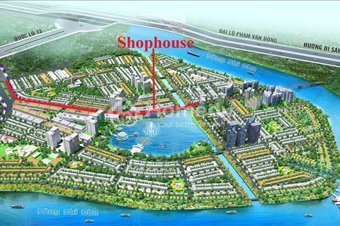 Mua nhanh kẻo lỡ Shophouse Sài Gòn Riverside City kinh doanh cho 8000 cư dân