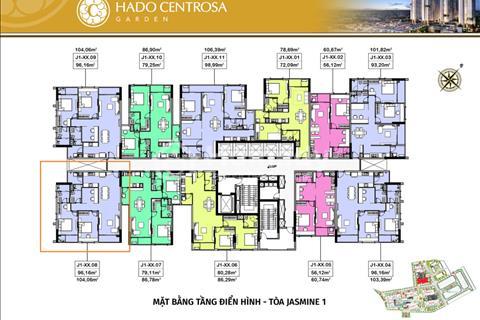 Mình đang có  suất nội bộ giá gốc chủ đầu tư Hà Đô Centrosa quận 10 căn 2 ngủ +  view đẹp