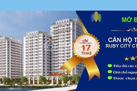 Bán căn hộ 62m2, căn góc thiết kế 3 ngủ cực đẹp, view bể bơi, giá từ 17 triệu/m2 đầy đủ nội thất
