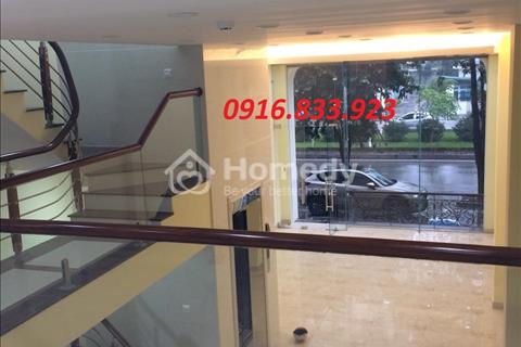 Gia đình cho thuê liền kề The Premier mặt đường Tôn Thất Thuyết - Cầu Giấy 120m 6 tầng 1 hầm